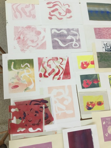 Introduction to Screen printing with artist Alexa Hare.