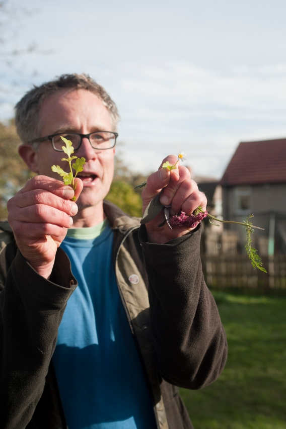 Chris Macefield has a project at Kirkton Park for The Orchard project.